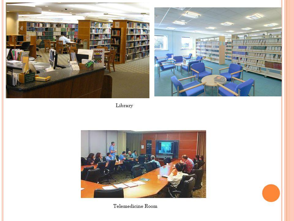 Library Telemedicine Room