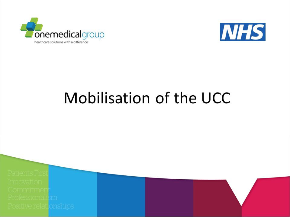 Mobilisation of the UCC