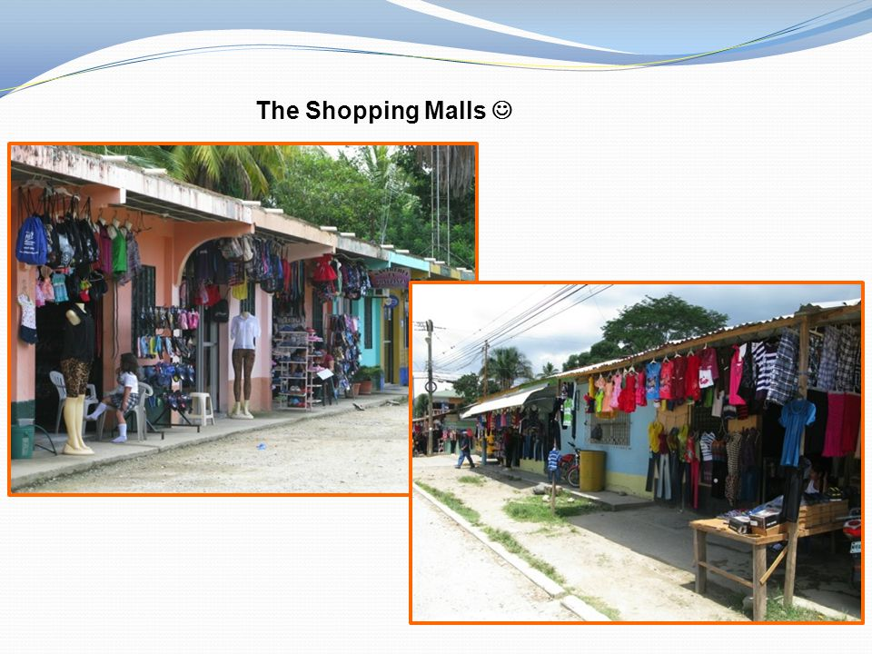 The Shopping Malls