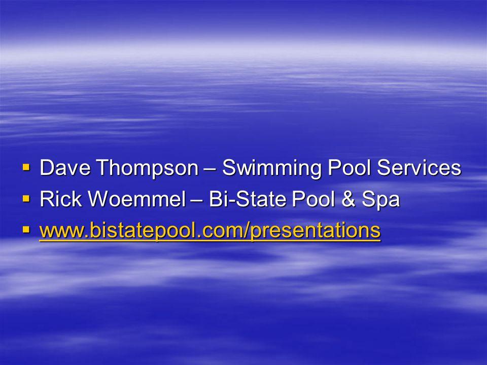 Pool Opening Basic's
