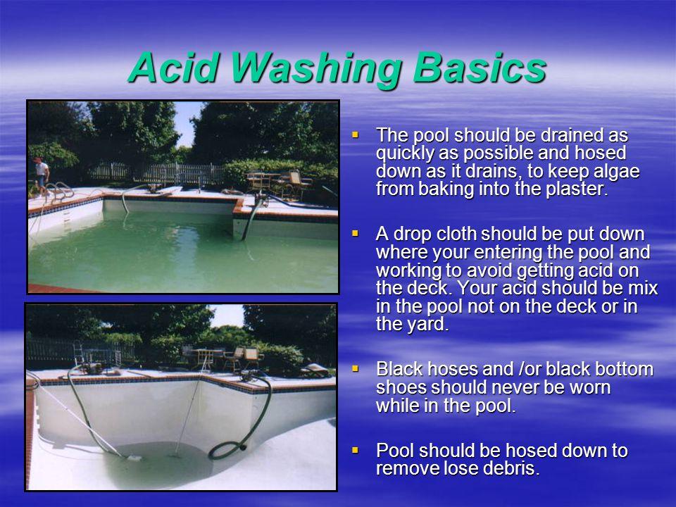 Acid Washing Basics