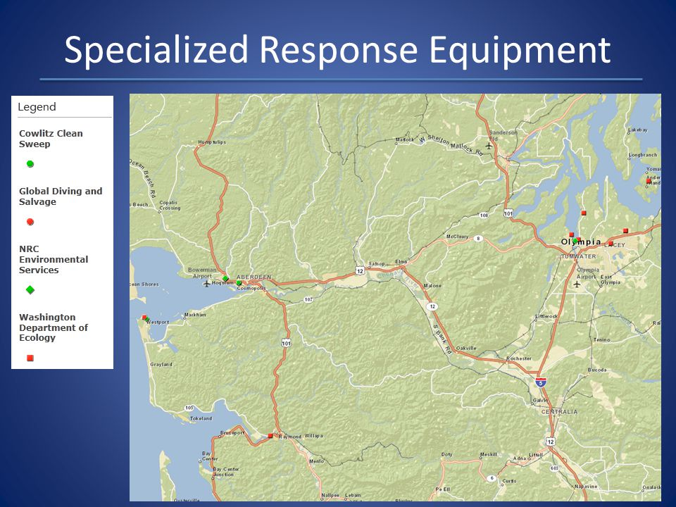 Specialized Response Equipment
