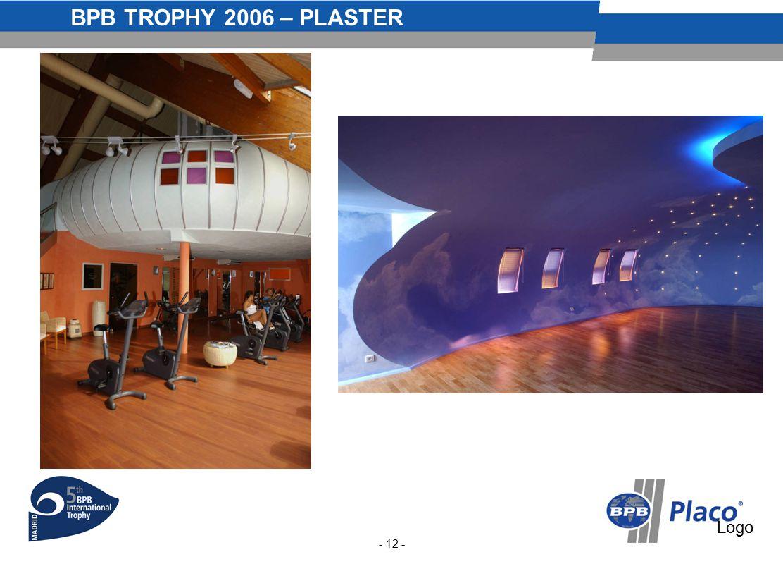 BPB TROPHY 2006 – PLASTER - 12 - Logo