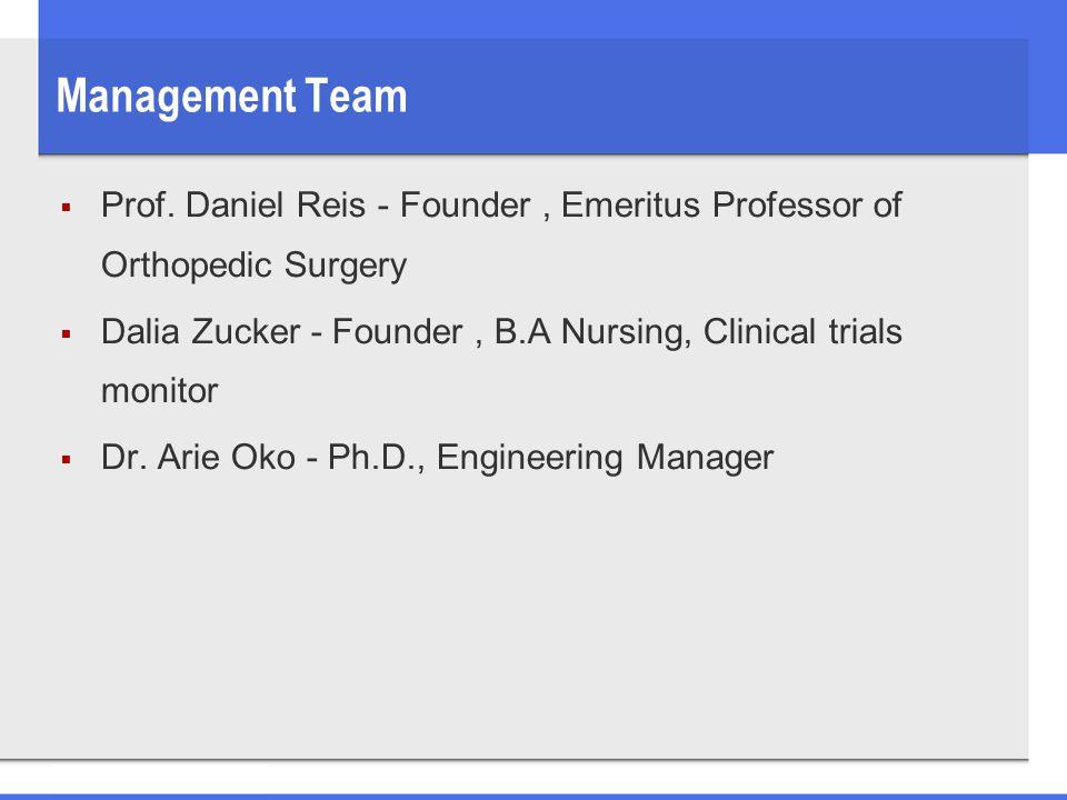 Management Team  Prof.