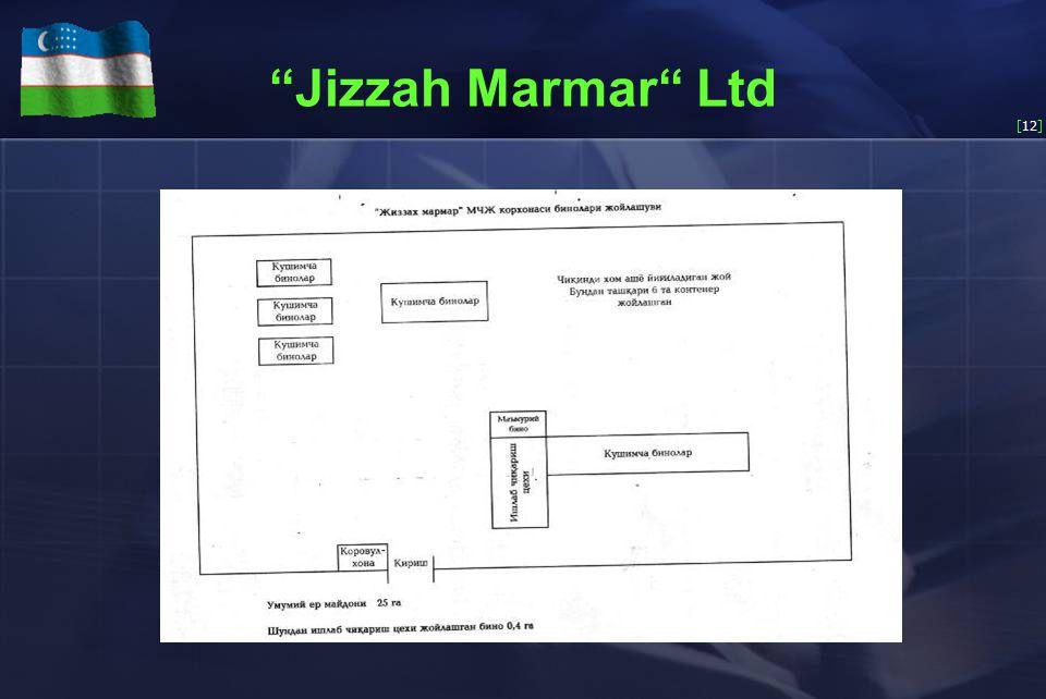 [12] Jizzah Marmar Ltd