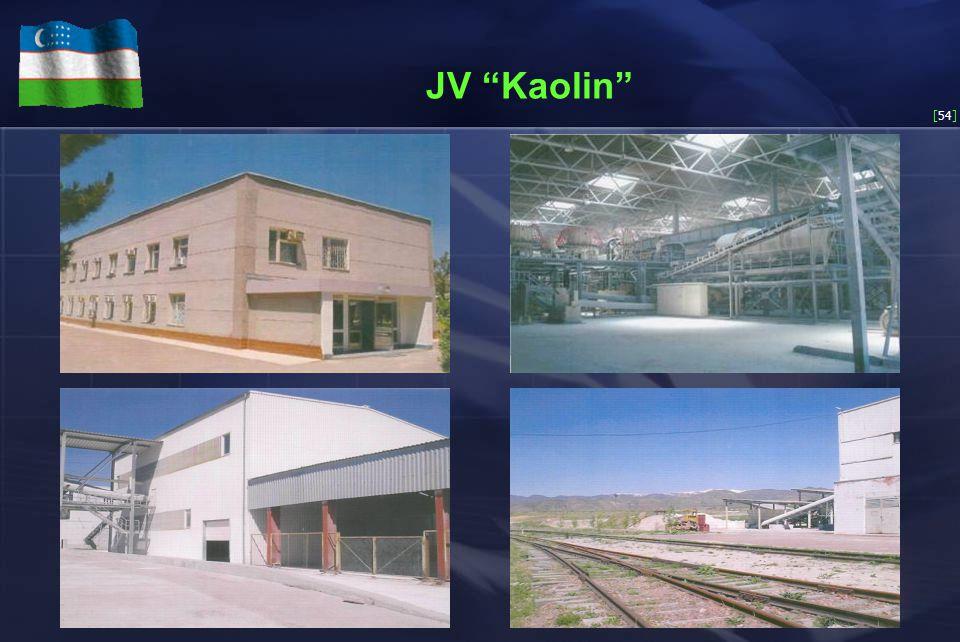 [54] JV Kaolin