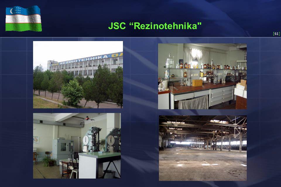 [61] JSC Rezinotehnika