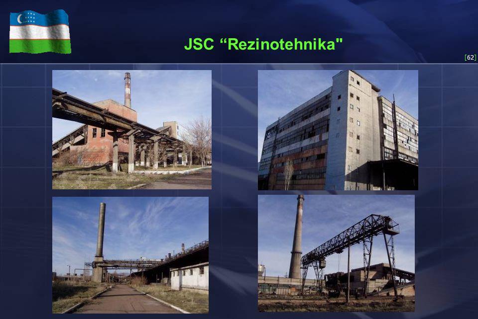 [62] JSC Rezinotehnika