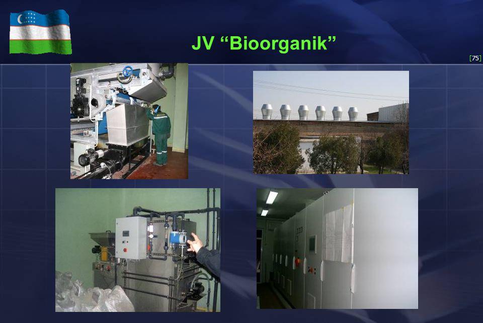 [75] JV Bioorganik