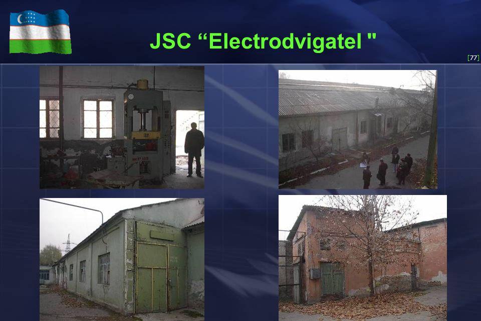 [77] JSC Electrodvigatel