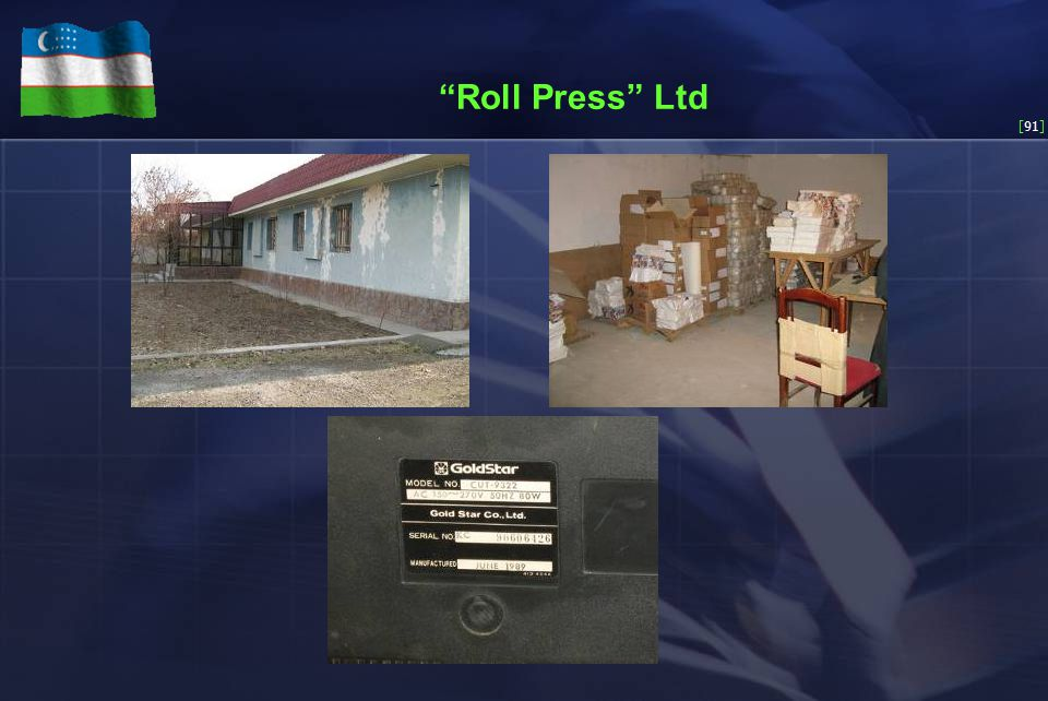 [91] Roll Press Ltd