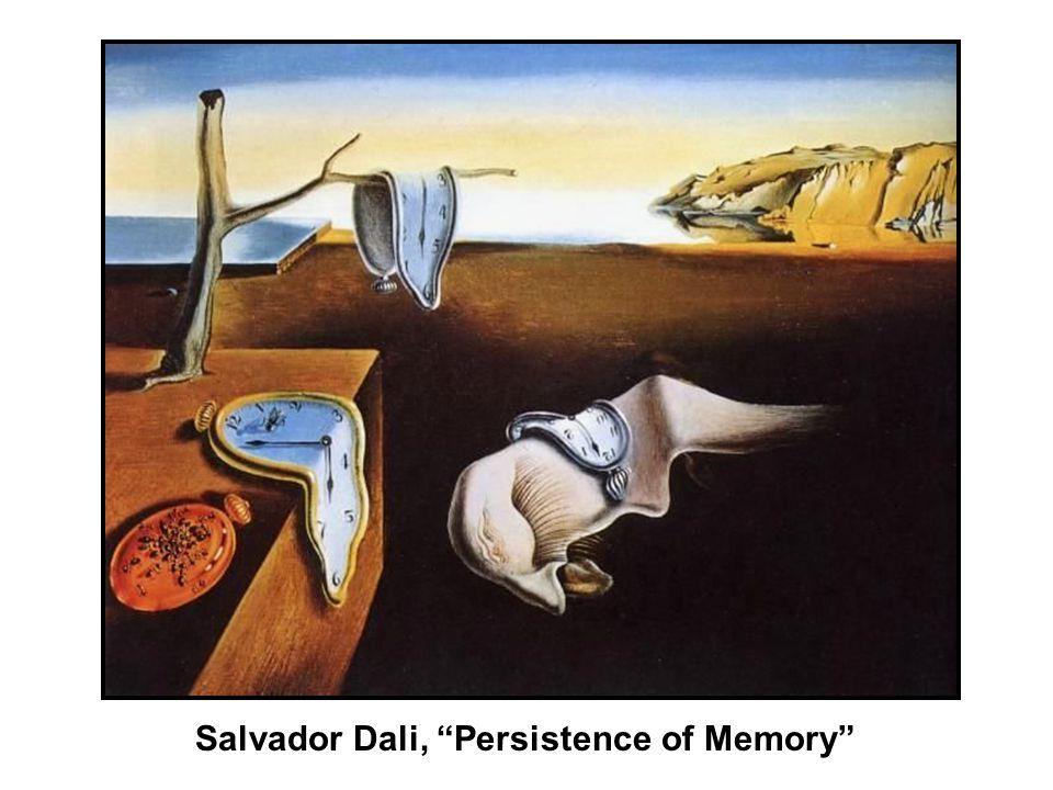 Salvador Dali, Persistence of Memory