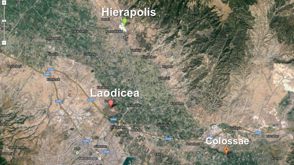 Laodicea Hierapolis Colossae