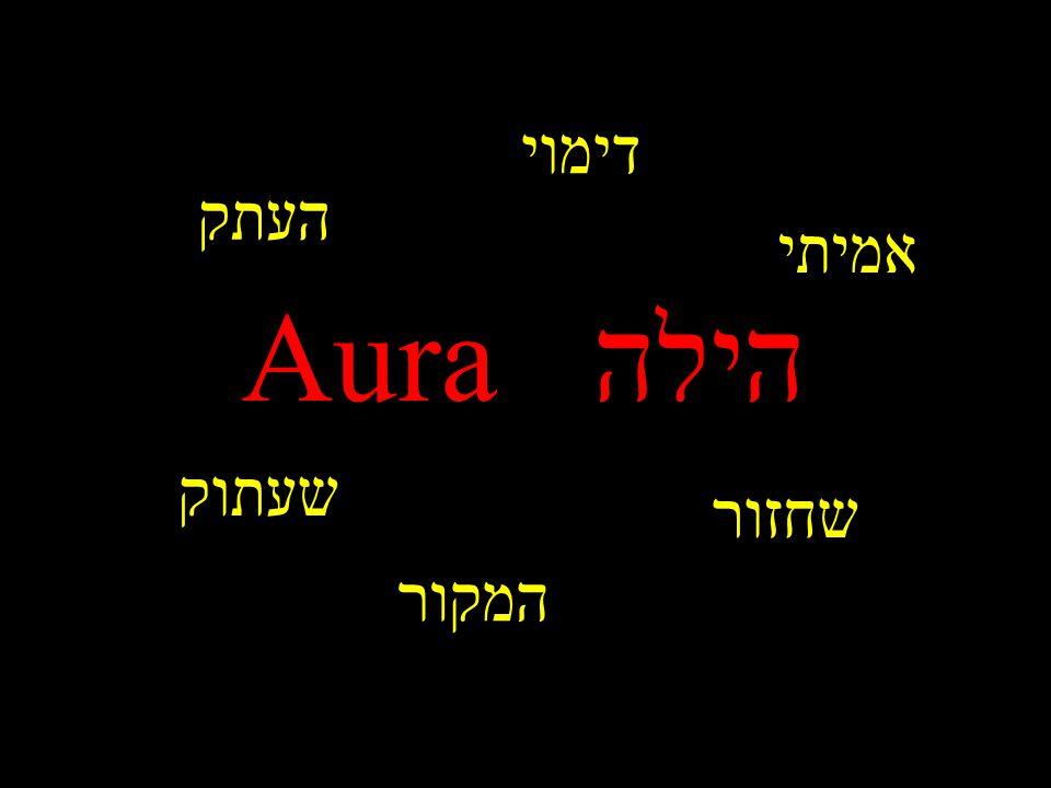 המקור העתק דימוי שחזור שעתוק אמיתי הילה Aura
