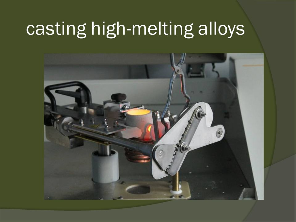 casting high-melting alloys
