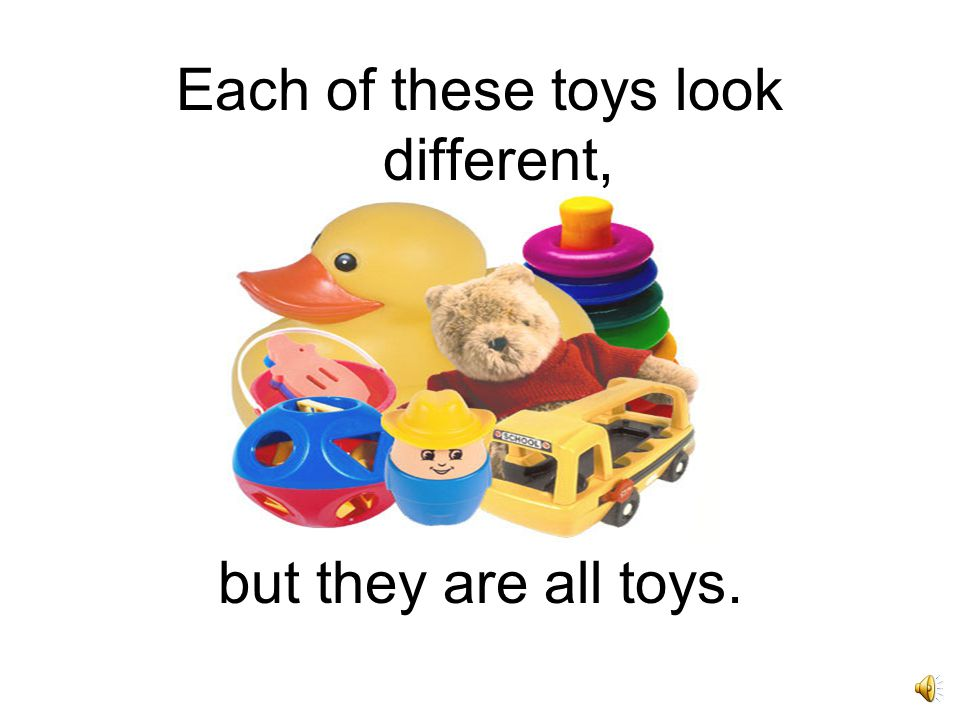 You can sort objects by their similarities and differences.