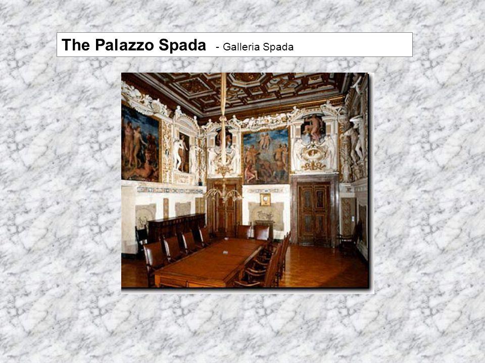 The Palazzo Spada - Galleria Spada
