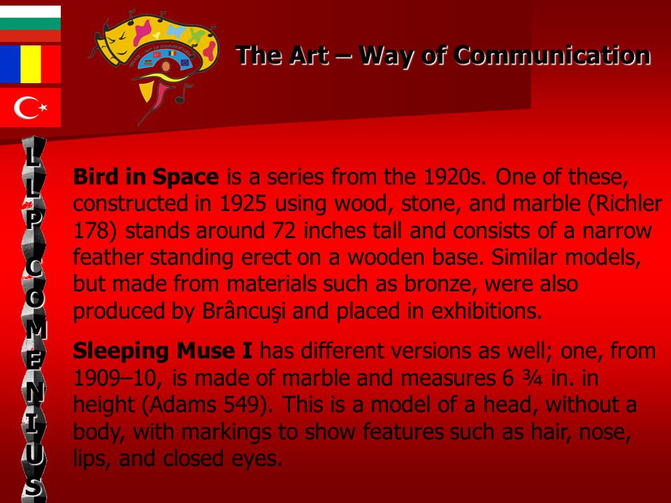 Bird in Space is a series from the 1920s.