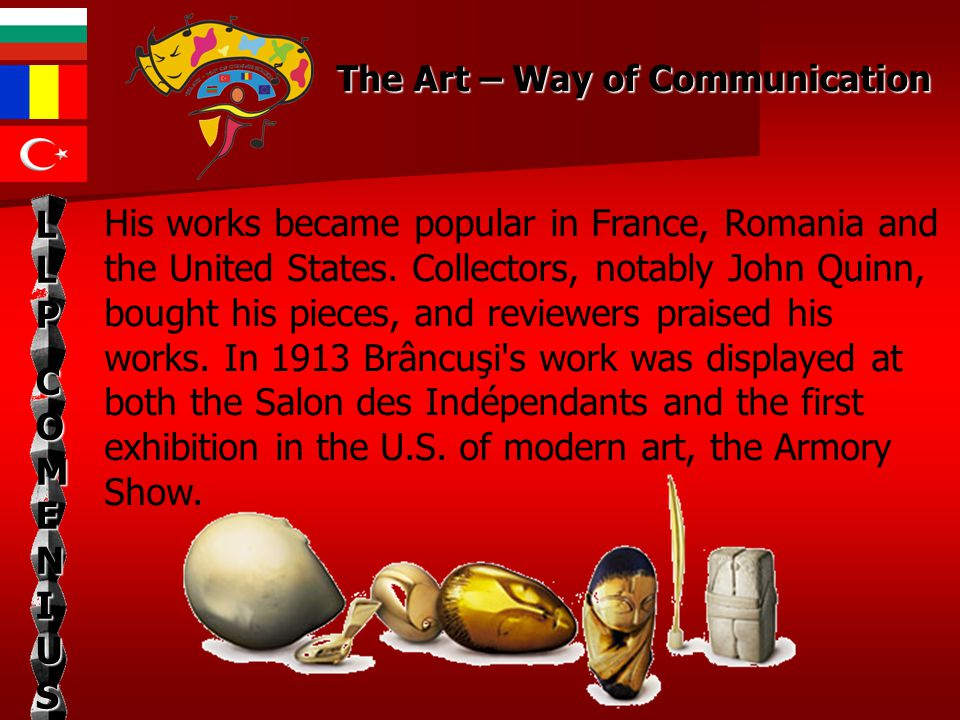 His works became popular in France, Romania and the United States.