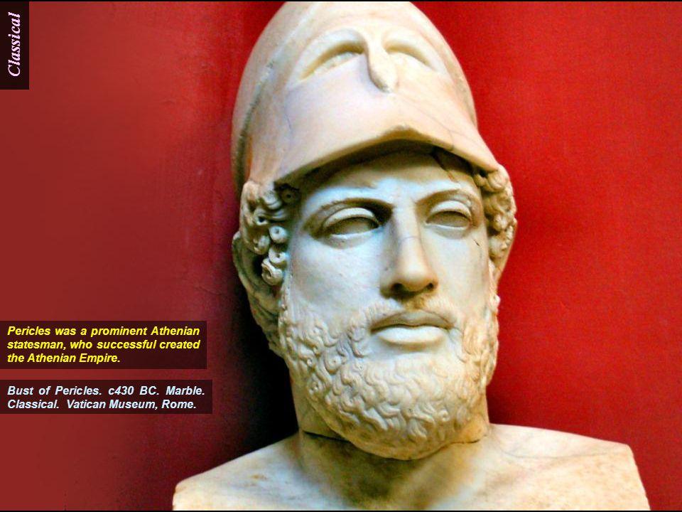Classical Philosopher of Porticello. 420-410 BC. Bronze.