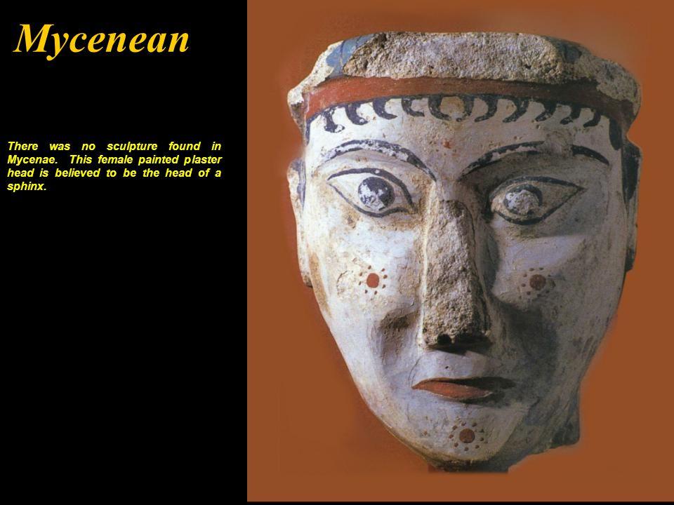 Minoan 1700-1500 BCE There were few statues found in Minoan Crete.