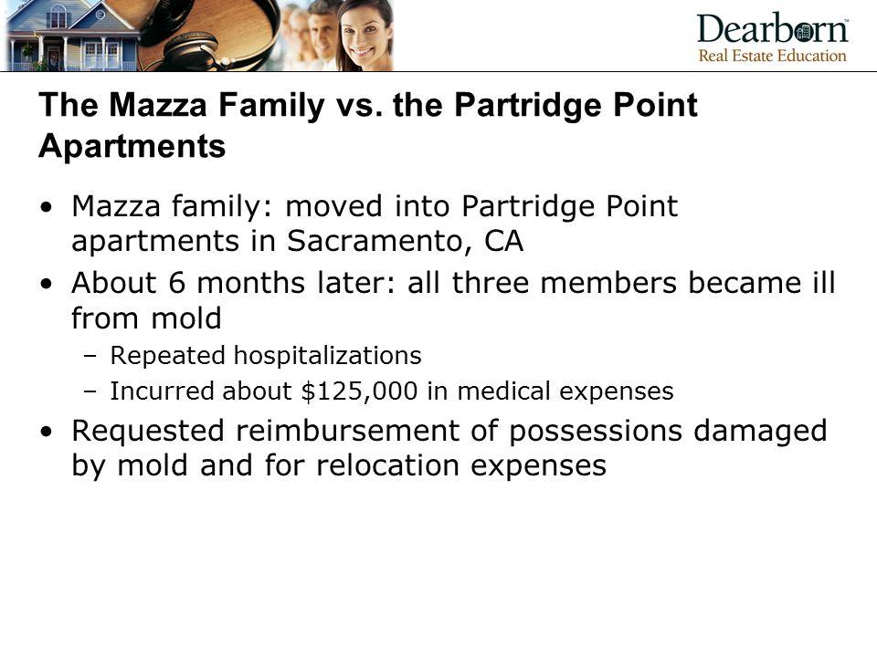 The Mazza Family vs.