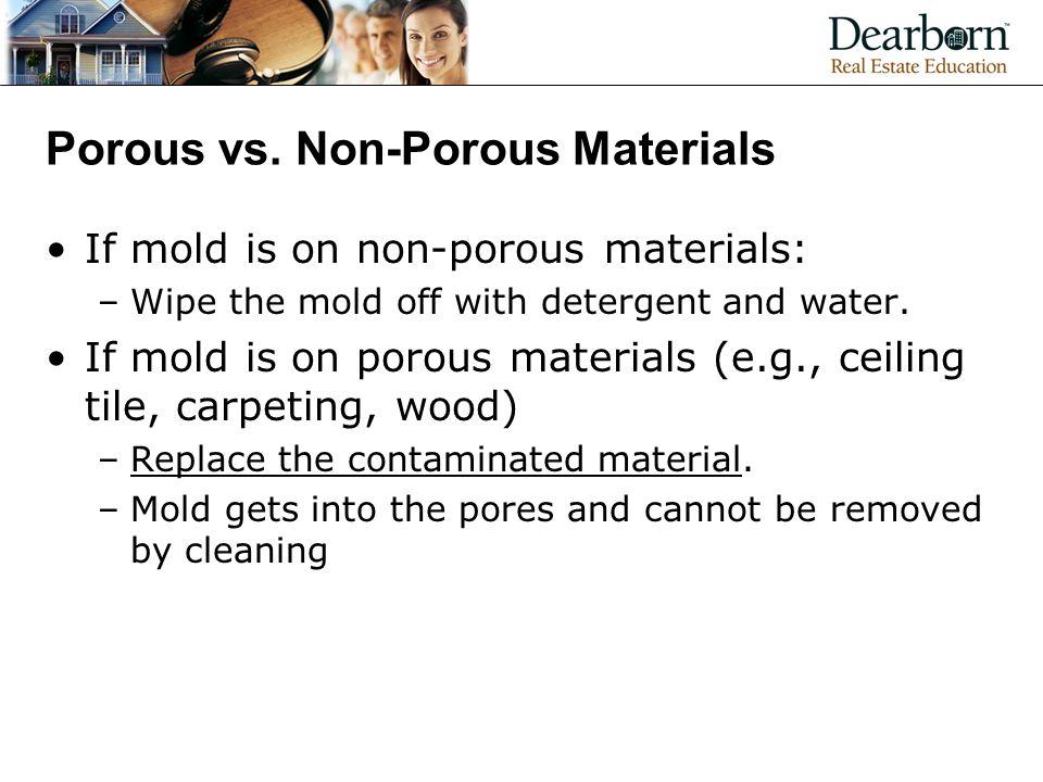 Porous vs.