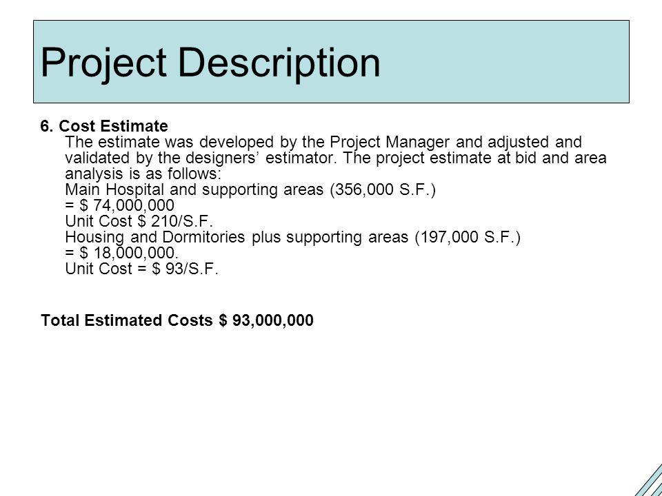 Project Description 6.