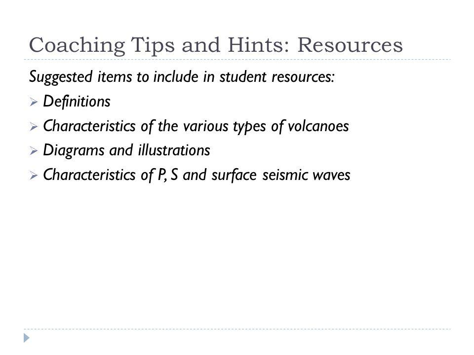 Volcanic Hazards Potential activity!