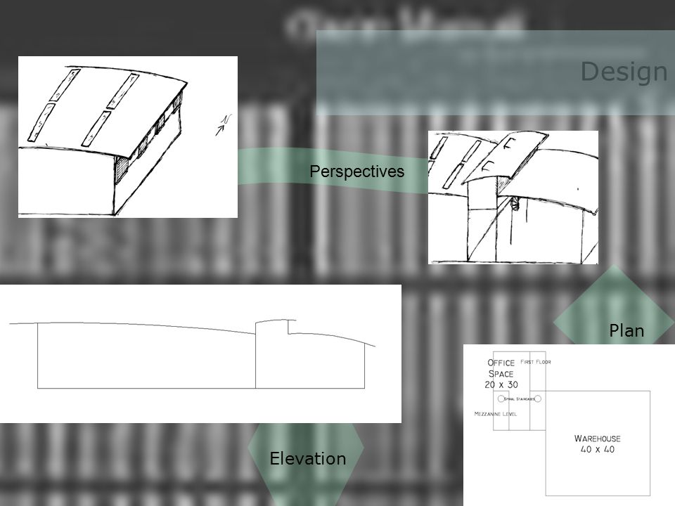 Design Elevation Plan Perspectives