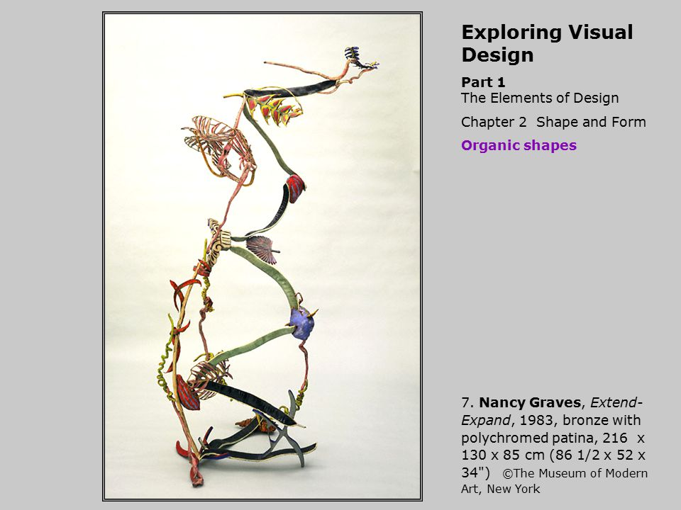 Exploring Visual Design Part 1 The Elements of Design, Chapter 2 Shape and Form Dynamic shapes 18.