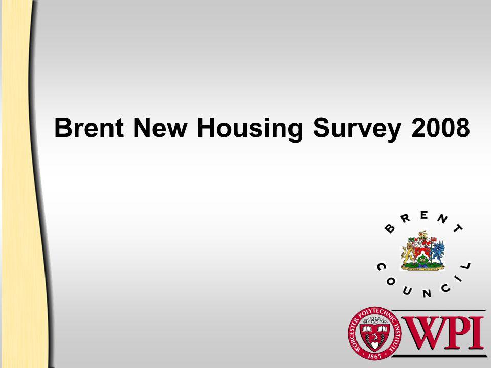 Brent New Housing Survey 2008