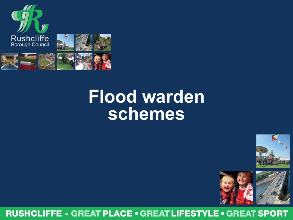 Flood warden schemes