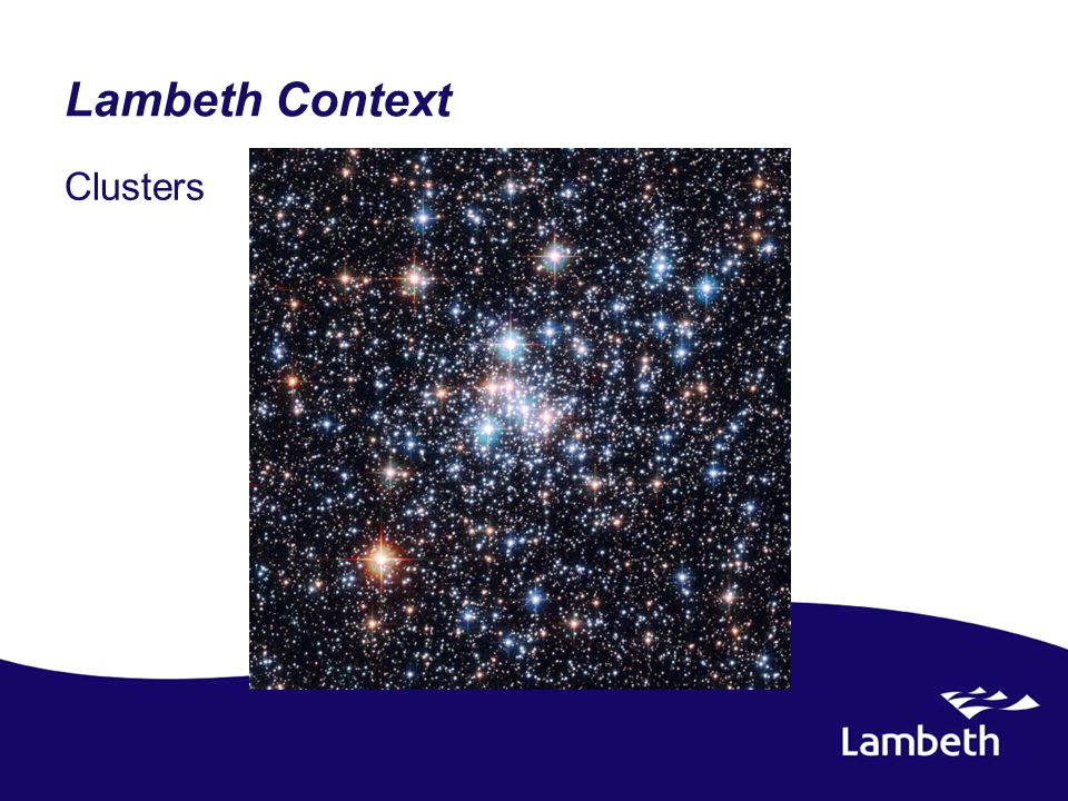 Lambeth Context Clusters