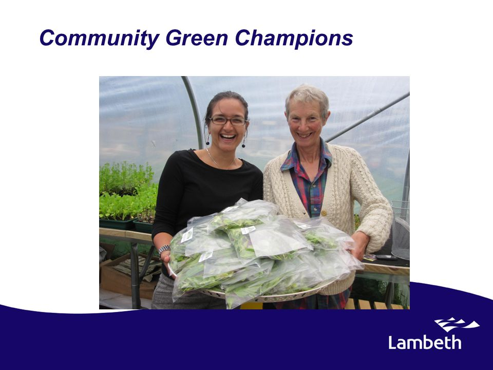 Community Green Champions