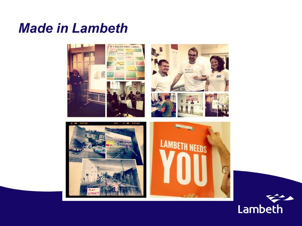 Made in Lambeth