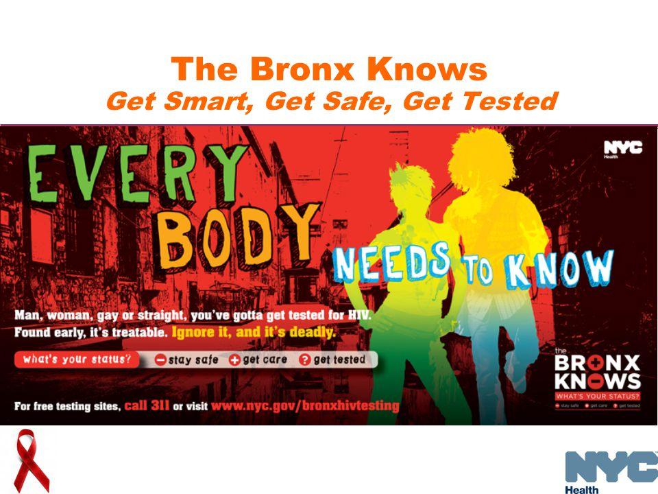 The Bronx Knows Get Smart, Get Safe, Get Tested