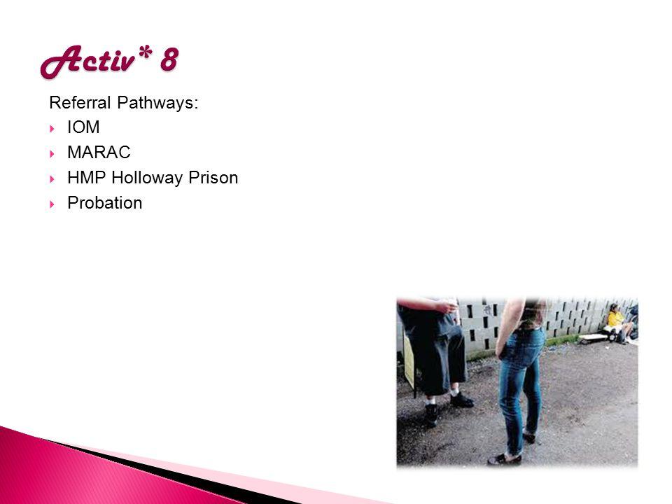 Referral Pathways:  IOM  MARAC  HMP Holloway Prison  Probation