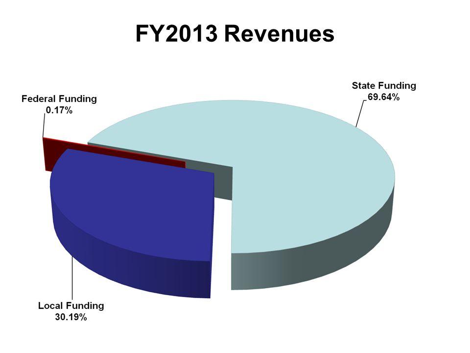 FY2013 Revenues
