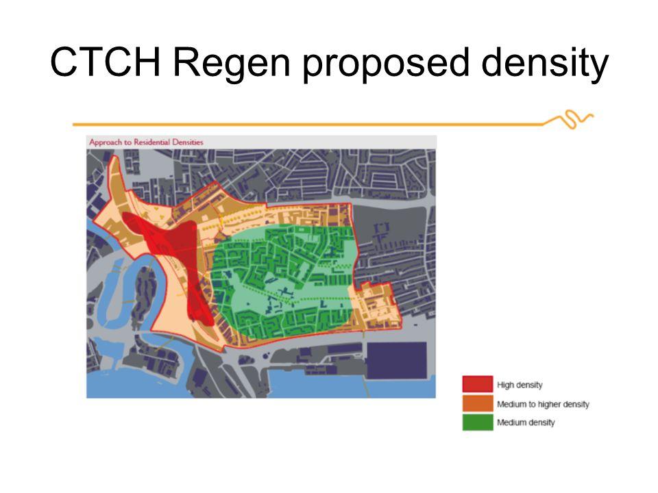 CTCH Regen proposed density