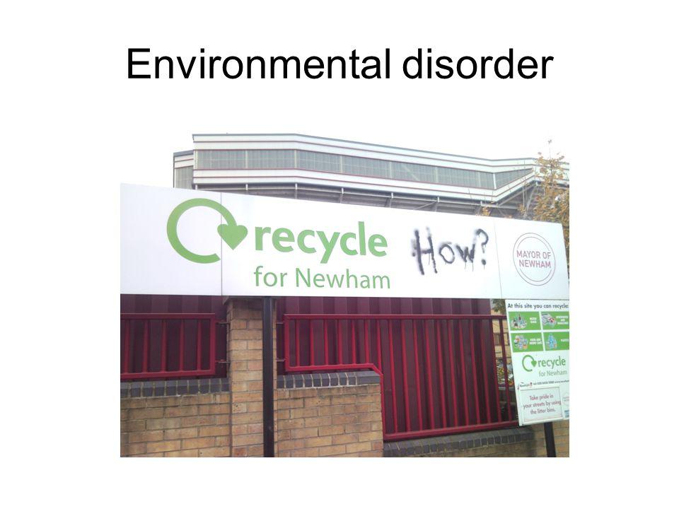 Environmental disorder