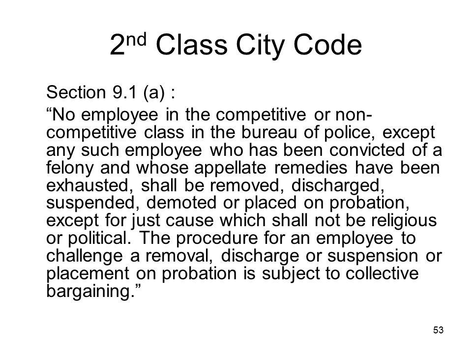 54 Remember the slide Pennsylvania Employment : fair employment statutes.