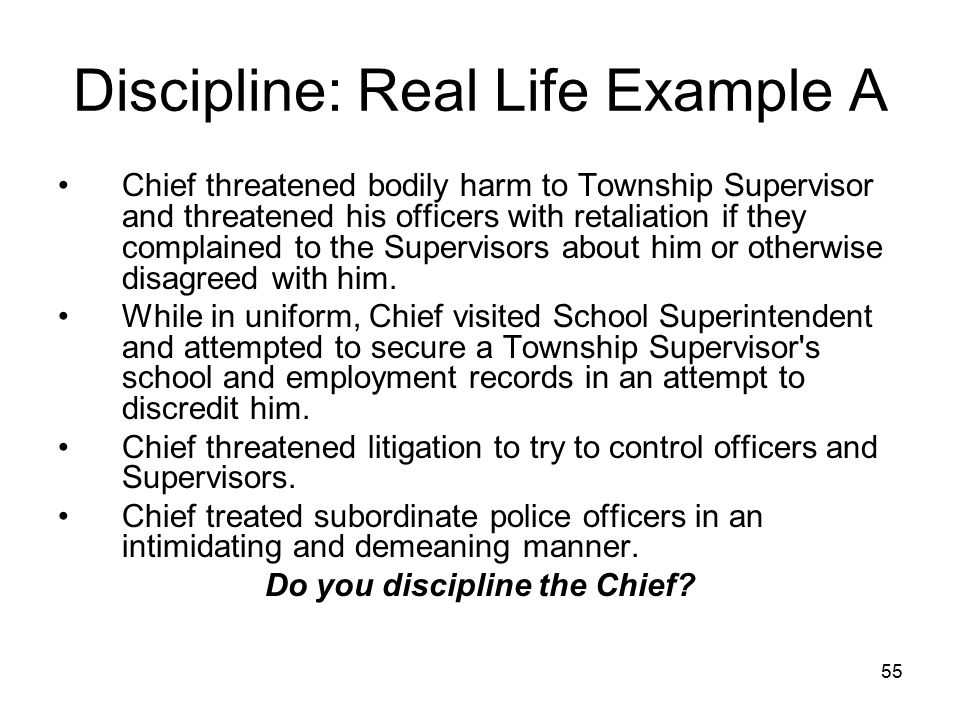 56 Scott Township (Columbia County) Did, and It Stuck The courts have defined the term conduct unbecoming and officer under Section 2 of the Act as conduct tending to destroy public respect and confidence in the operation of municipal services or affecting the morale or efficiency of the police department. Powell v.
