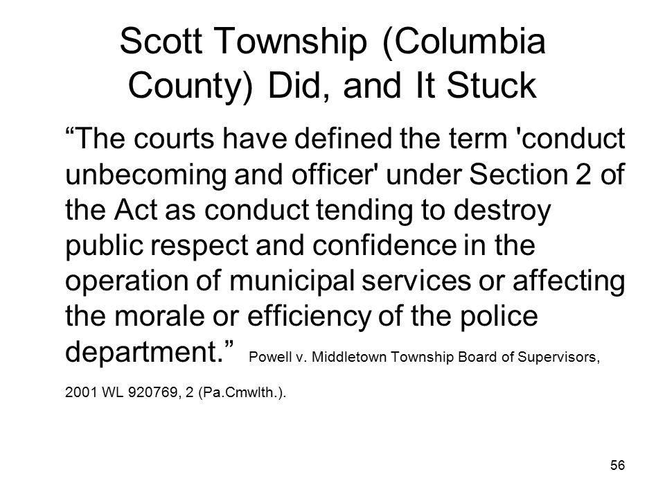 57 The Scott Twp.