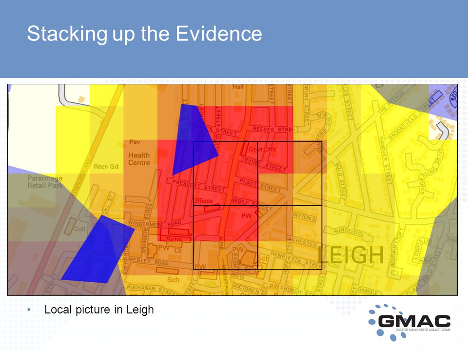 Local picture in Leigh Stacking up the Evidence