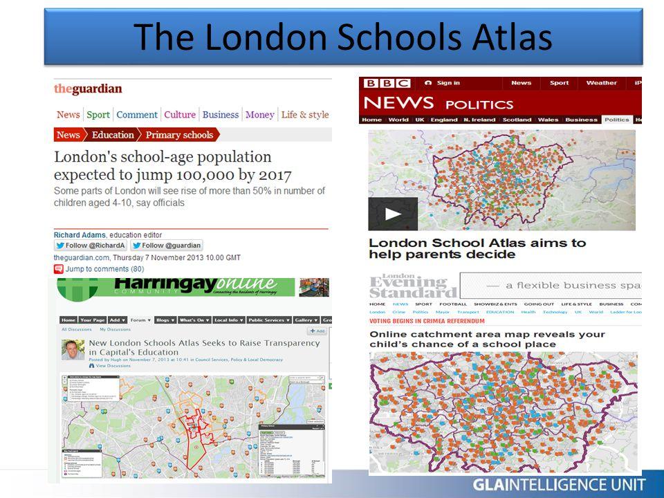 The London Schools Atlas