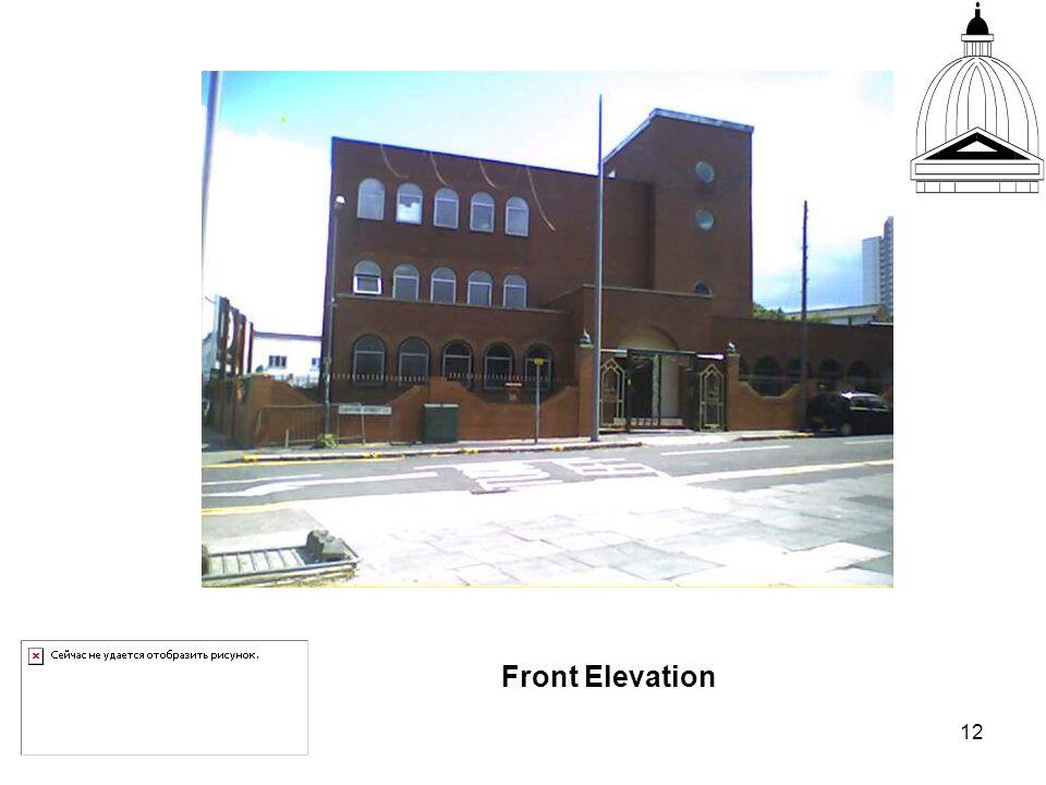12 Front Elevation