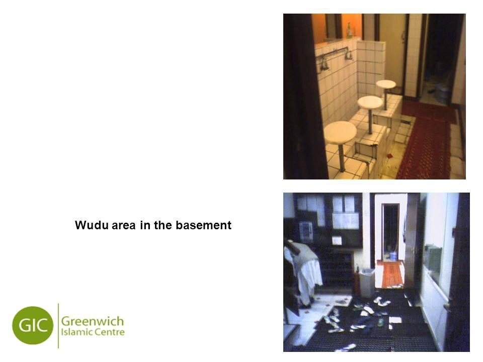 19 Wudu area in the basement