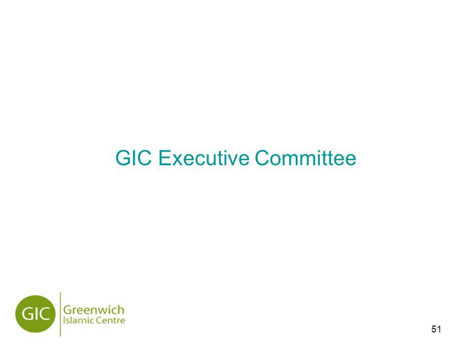 51 GIC Executive Committee