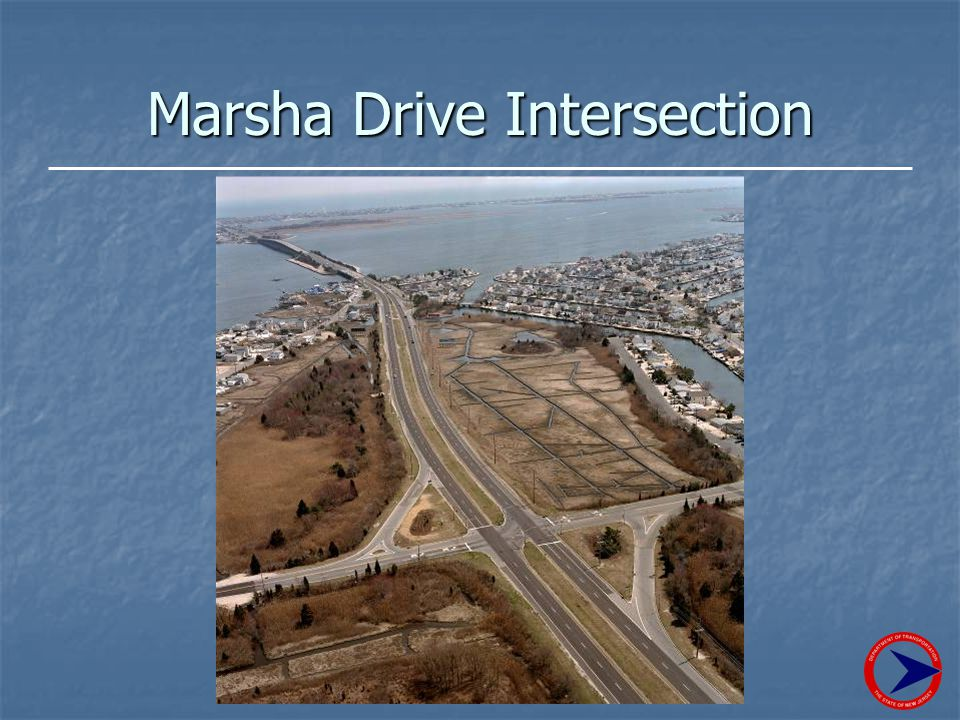 Marsha Drive Intersection